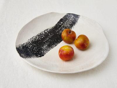 mhceramics-brushstrokeblack-bowlL