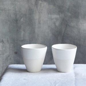 coffeecup beaker ceramic by marie helene clauzon
