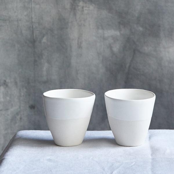 coffeecup beaker ceramic by marie helene clauzon